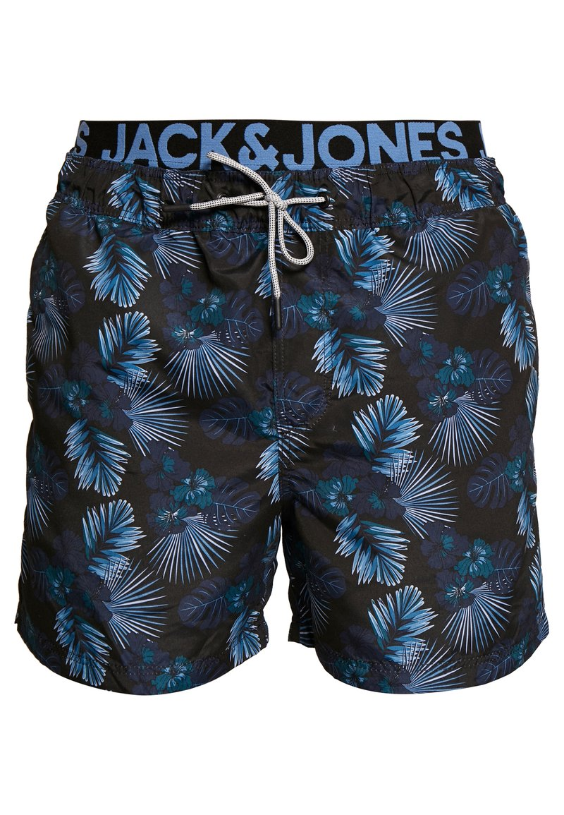 Jack & Jones - JJIARUBA JJSWIMSHORTS - Zwemshorts - black
