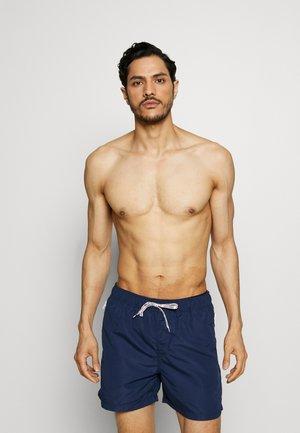 JJIARUBA SWIMSHORTS ZIP - Swimming shorts - medieval blue