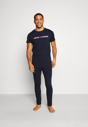 JACLOGO LOUNGEWEAR SET - Pyjamas - navy blazer