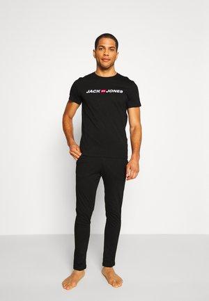 JACLOGO LOUNGEWEAR SET - Pyjama - black