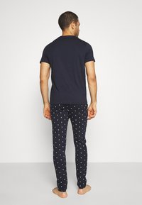 Jack & Jones - JACAND LOUNGEWEAR SET - Pyjama - navy blazer - 2