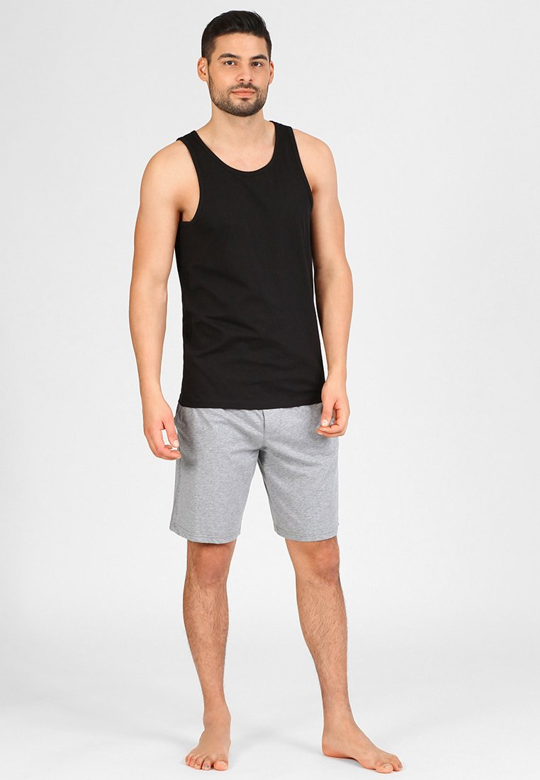Jack & Jones - JACBASIC TANKTOP 2 PACK - Unterhemd/-shirt - black