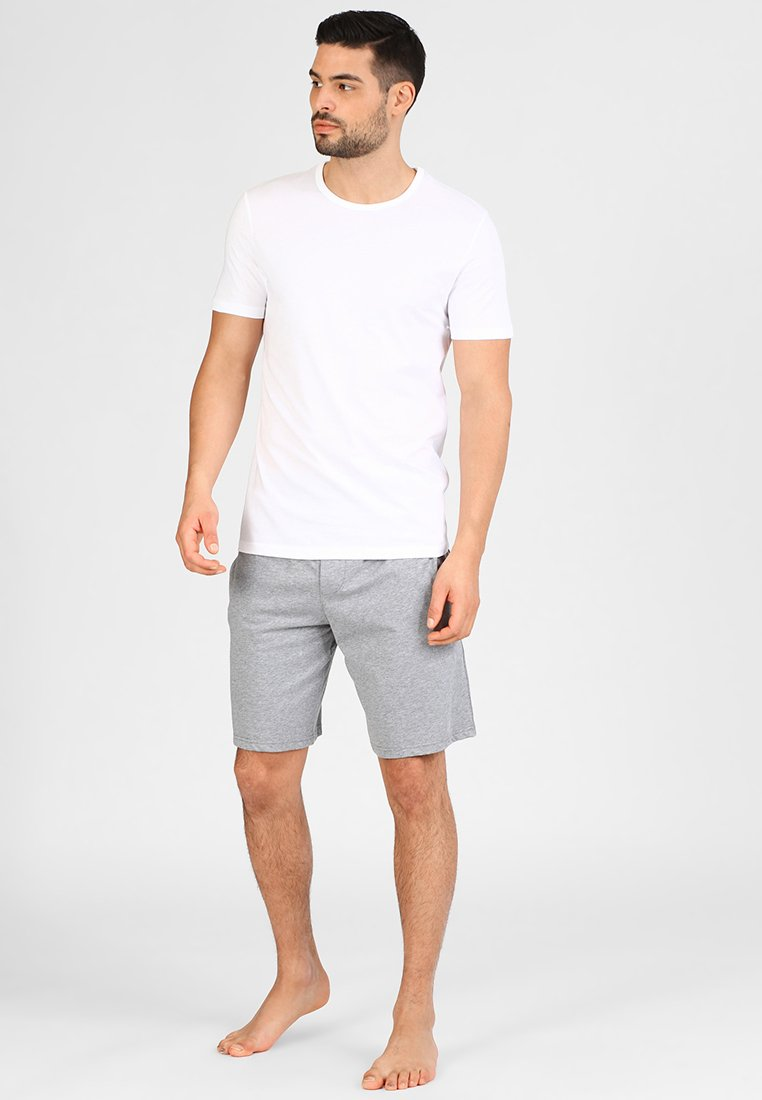 Jack & Jones - JACBASIC CREW NECK TEE 2 PACK  - Aluspaita - white