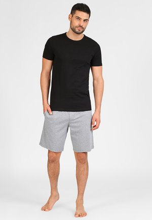 JACBASIC CREW NECK TEE 2 PACK  - Maglietta intima - black