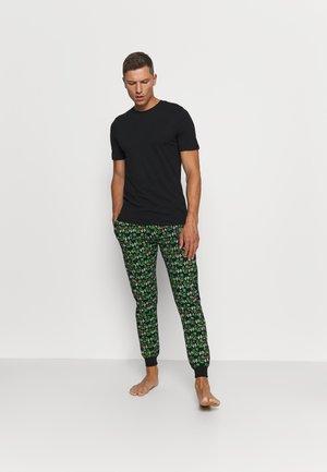 JACBASIC TEE CREW NECK 4 PACK - Pyjamasoverdel - black