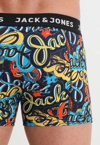 Jack & Jones - JACPETE TRUNKS 3 PACK - Culotte - black - 2