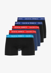 Jack & Jones - JACLEE TRUNKS 5 PACK - Shorty - blue/black - 5