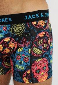 Jack & Jones - JACANTON 3 PACK - Onderbroeken - black/scarlet sage - 6