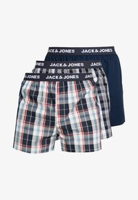 Jack & Jones - JACWOVEN 3 PACK - Boxershort - navy - 3