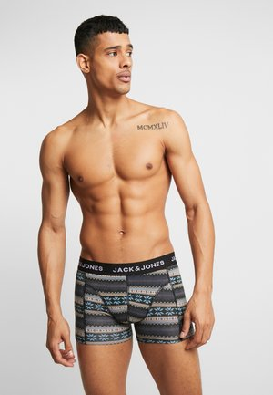 JACSHELBY TRUNKS 3 PACK - Culotte - bonnie blue/black/rosin