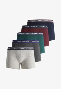 Jack & Jones - 5 PACK - Boxershorts - dark grey melange - 5
