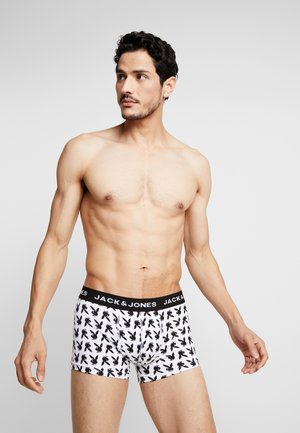 JACHUGH TRUNKS 3 PACK - Bokserit - white/black /yellow