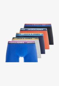 Jack & Jones - JACPRINT TRUNKS 5 PACK - Culotte - navy blazer/black /surf the web - 4