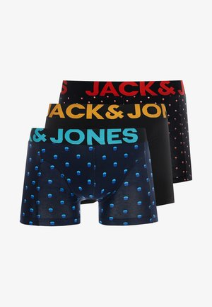 JACSMALL DOT TRUNKS 3 PACK - Boxerky - black/navy blazer