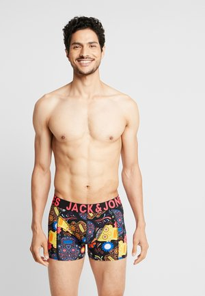 JACSUGAR SKULL TRUNKS 3 PACK - Shorty - diva pink/black