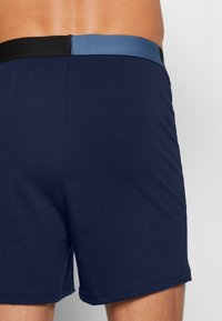Jack & Jones - JACSOLID BOXERS 2 PACK - Shorty - navy blazer/navy blazer - 2