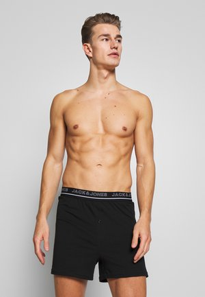 JACBLACK BOXERS 2 PACK - Shorty - black/black