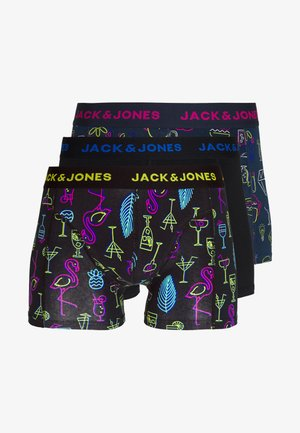 JACPOP ELEMENTS TRUNKS 3 PACK - Boxerky - black