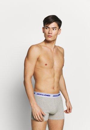JACSUPER TWIST TRUNKS 3 PACK - Onderbroeken - light grey melange/lapis blue