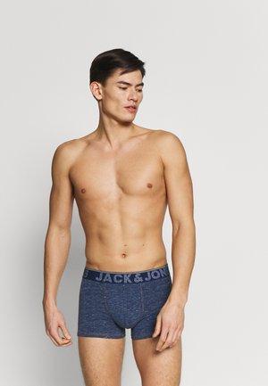 TRUNKS 3 PACK - Onderbroeken - navy blazer/dark grey melange