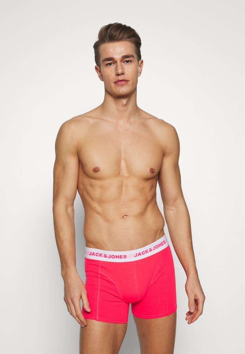 Jack & Jones - JACNEON SOLID TRUNKS 3 PACK - Culotte - diva pink/andean toucan
