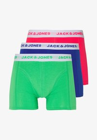 Jack & Jones - JACNEON SOLID TRUNKS 3 PACK - Culotte - diva pink/andean toucan - 4