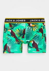 Jack & Jones - JACSUMMER. ANIMALS TRUNKS 3 PACK - Shorty - diva pink/blanery/yolk yellow - 2