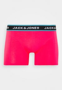Jack & Jones - JACSUMMER. ANIMALS TRUNKS 3 PACK - Shorty - diva pink/blanery/yolk yellow - 3