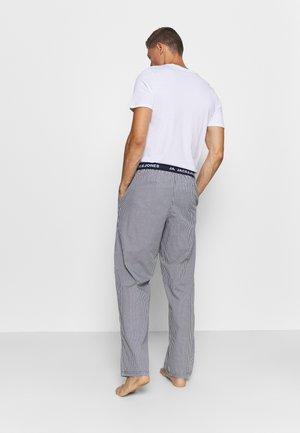 JACMIX PANTS - Pantalón de pijama - black/blue