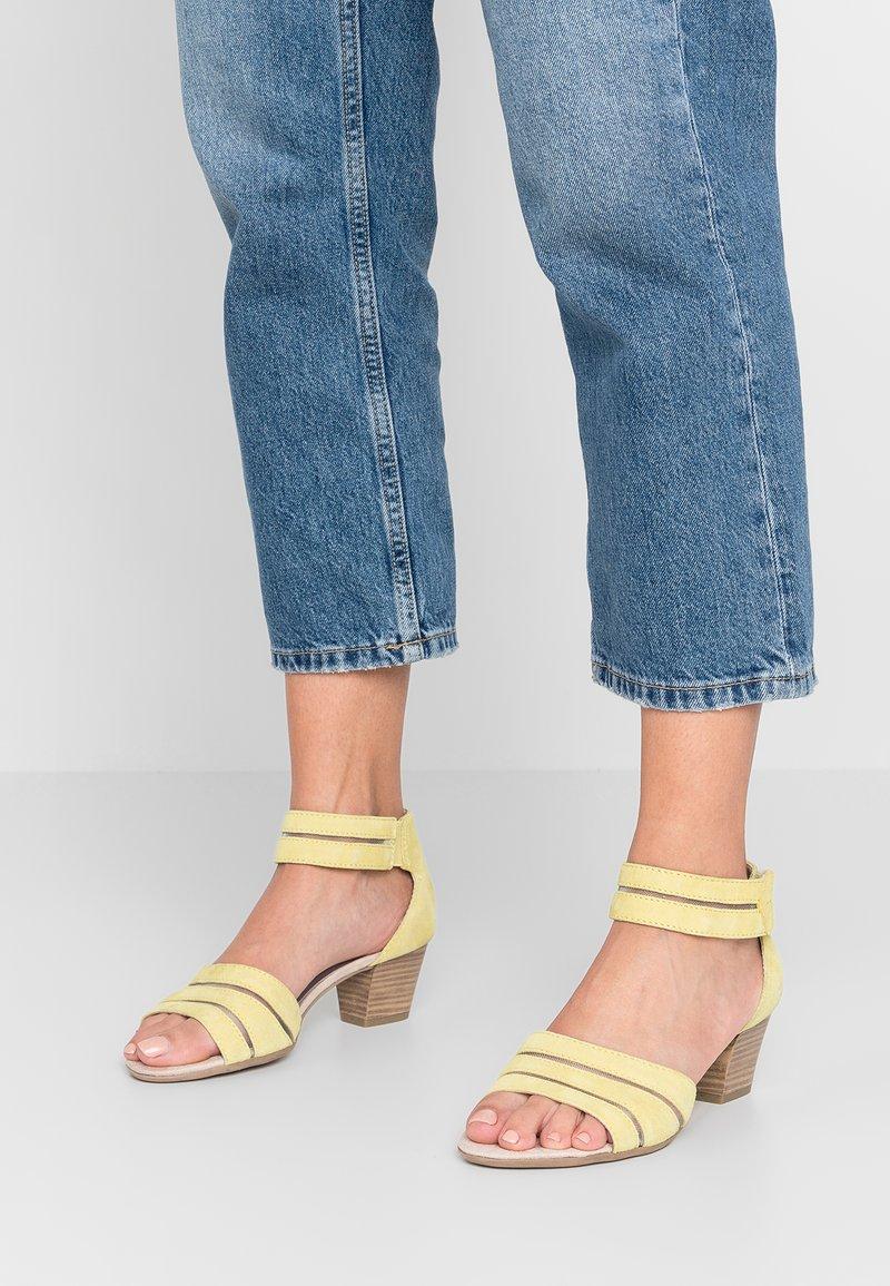 Jana - Sandals - yellow
