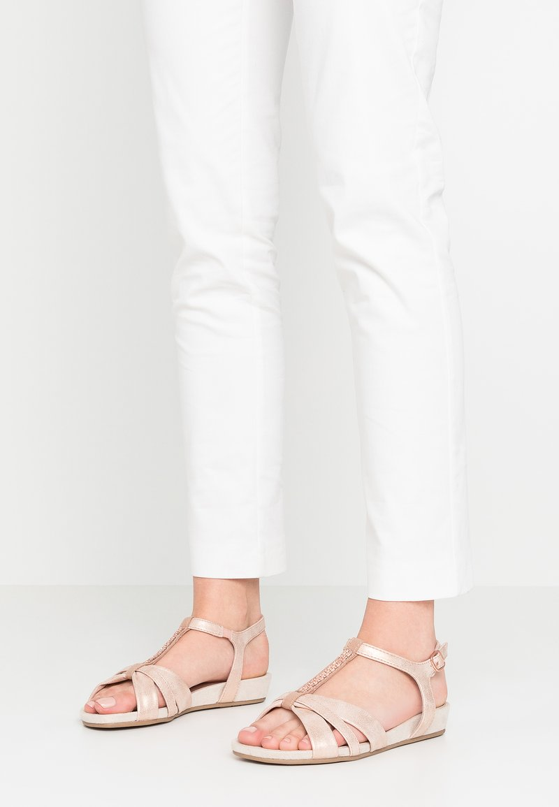 Jana - Sandals - rose/gold