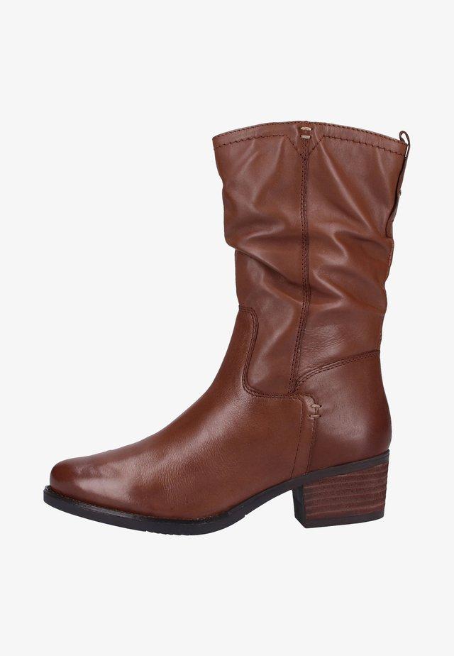 Høje støvler/ Støvler - cognac (308)