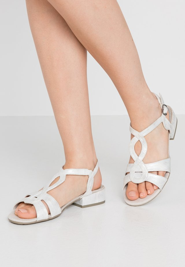 Sandales - white/metallic