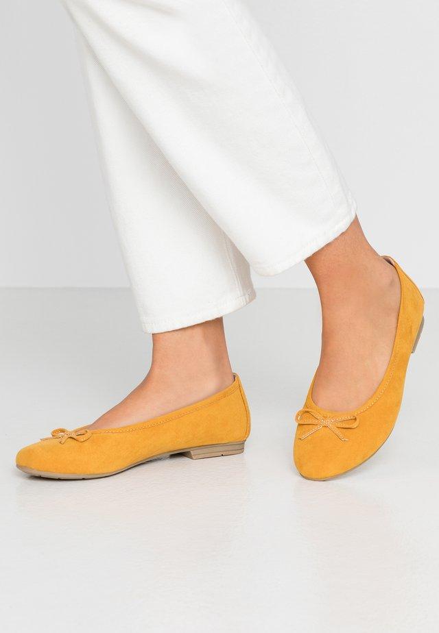 Ballerinaskor - saffron