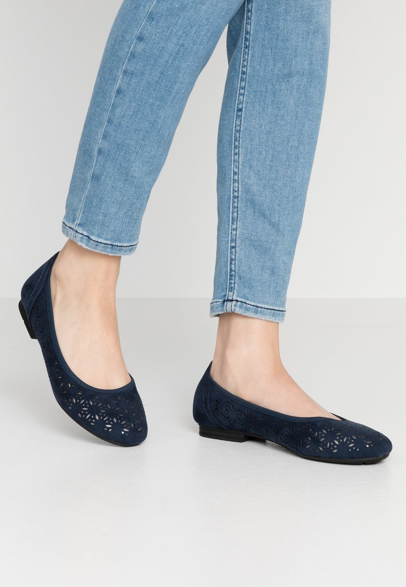 Jana - Ballet pumps - navy