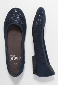 Jana - Ballet pumps - navy - 3
