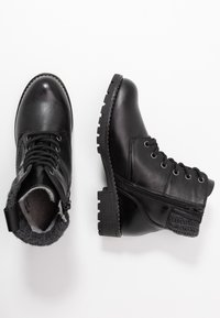 Jana - Kotníková obuv - black - 3