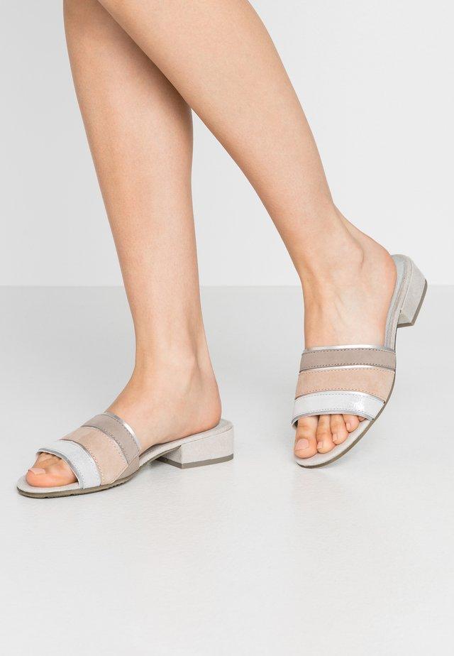 Slip-ins - silver