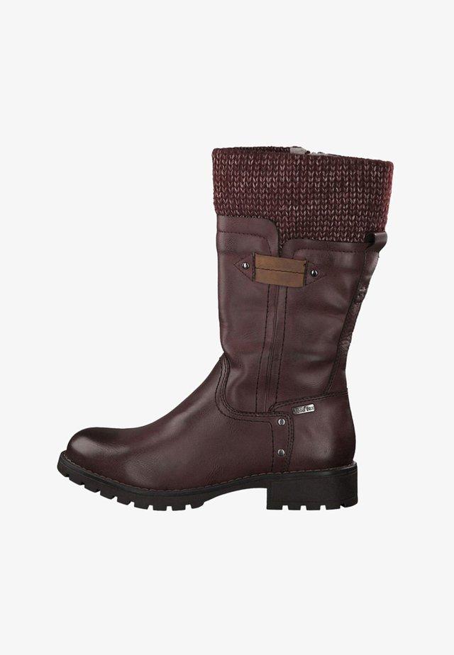 Boots - bordeaux