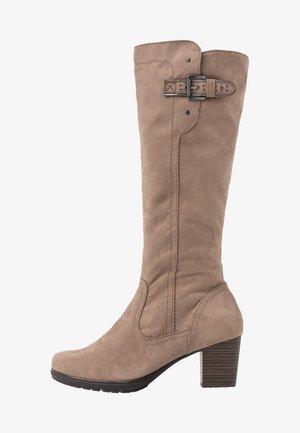 BOOTS - Vysoká obuv - taupe