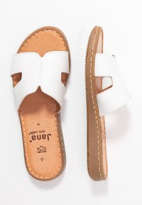 Jana - SLIDES - Pantofle - white - 3