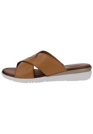 Domácí obuv - cognac 305