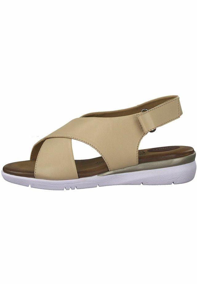 JANA - Walking sandals - rose