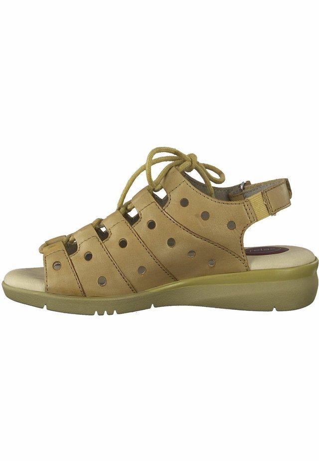 JANA - Walking sandals - nut