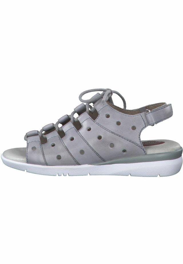 JANA - Walking sandals - lt. blue