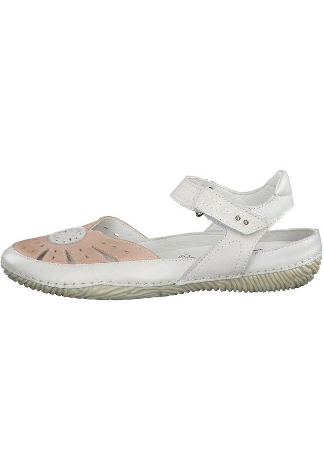 JANA - Walking sandals - grey/rose