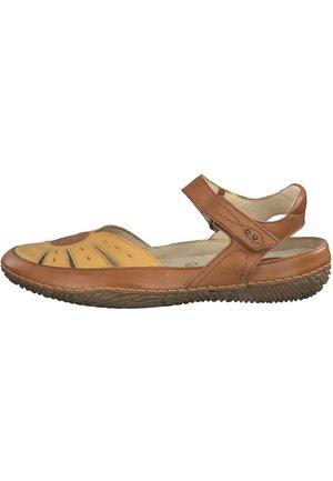 JANA - Walking sandals - saffron comb