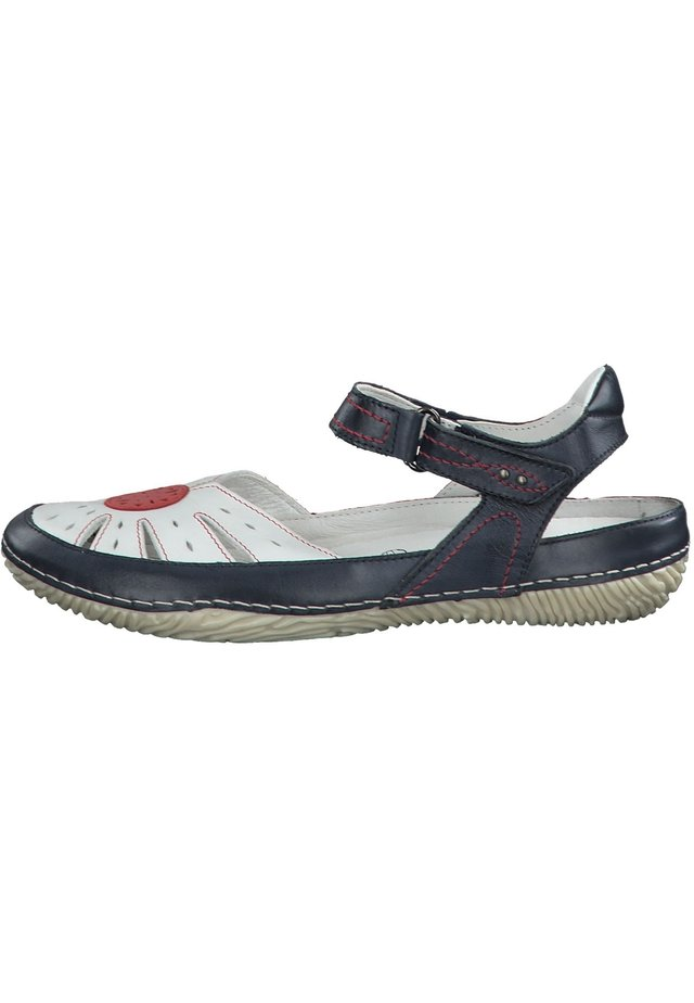 JANA - Walking sandals - navy comb