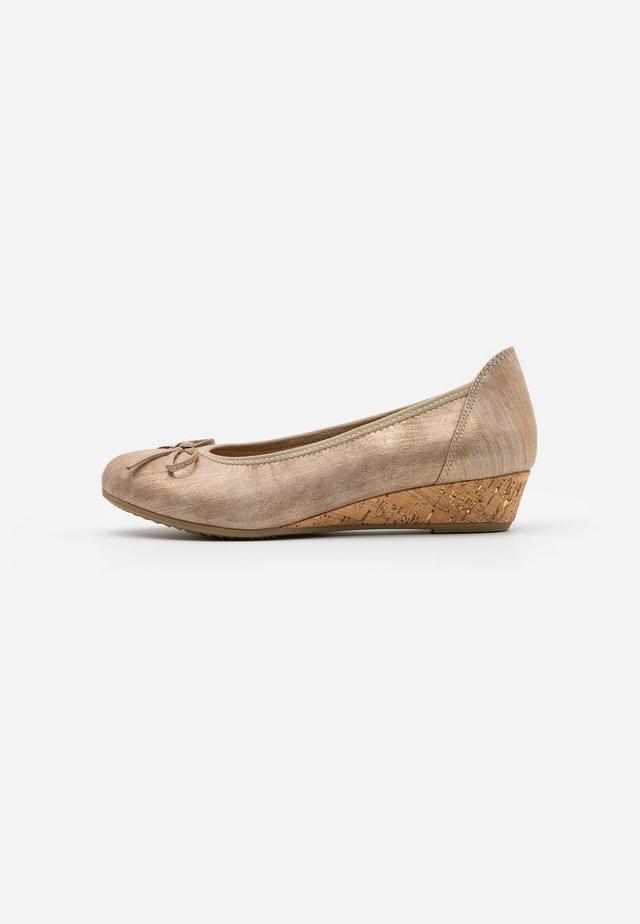 Sleehakken - bronze metall