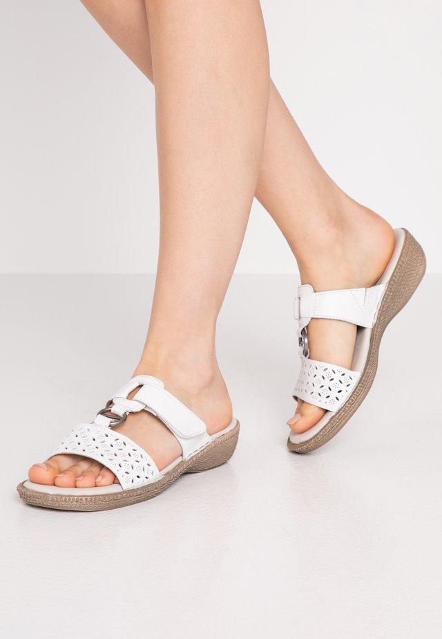 SLIDES - Pantofle - white